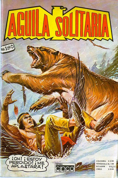Cover for Aguila Solitaria (Editora Cinco, 1976 ? series) #180