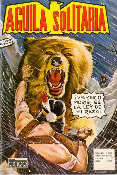 Cover for Aguila Solitaria (Editora Cinco, 1976 ? series) #182