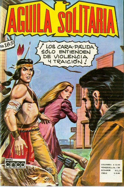 Cover for Aguila Solitaria (Editora Cinco, 1976 ? series) #185