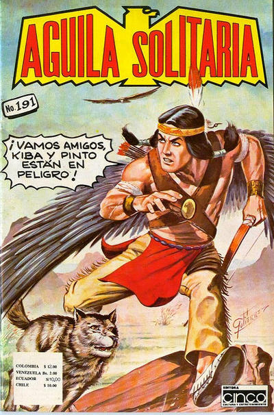 Cover for Aguila Solitaria (Editora Cinco, 1976 ? series) #191