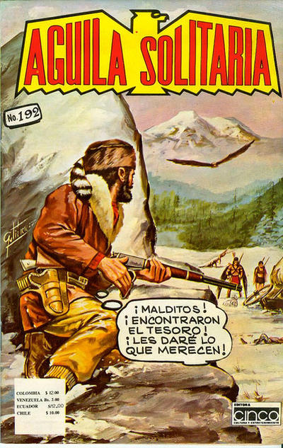 Cover for Aguila Solitaria (Editora Cinco, 1976 ? series) #192