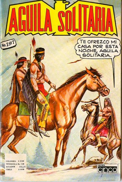 Cover for Aguila Solitaria (Editora Cinco, 1976 ? series) #197