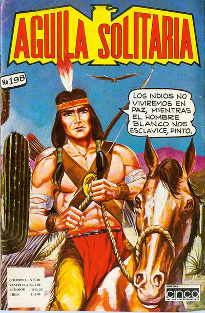 Cover for Aguila Solitaria (Editora Cinco, 1976 ? series) #198
