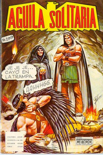 Cover for Aguila Solitaria (Editora Cinco, 1976 ? series) #199