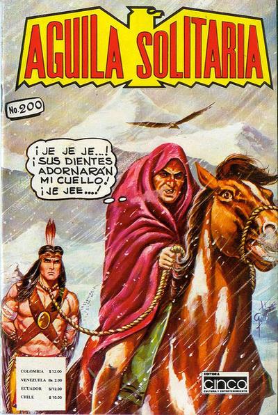 Cover for Aguila Solitaria (Editora Cinco, 1976 ? series) #200