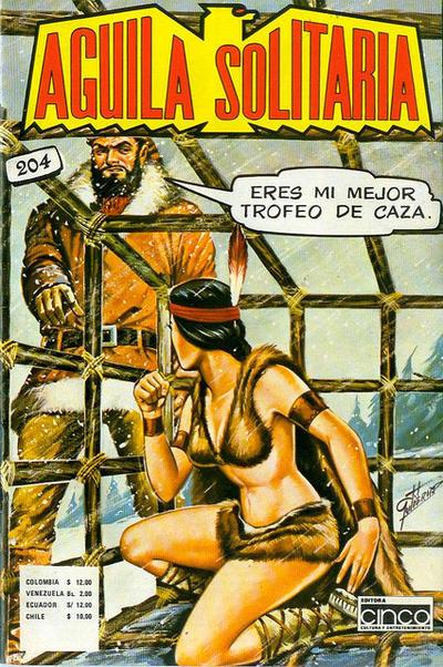 Cover for Aguila Solitaria (Editora Cinco, 1976 ? series) #204
