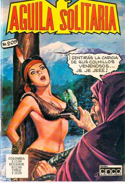 Cover for Aguila Solitaria (Editora Cinco, 1976 ? series) #209