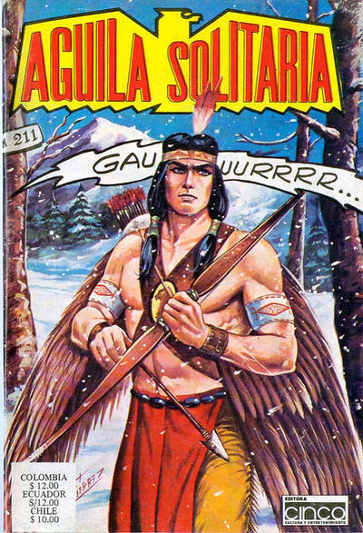 Cover for Aguila Solitaria (Editora Cinco, 1976 ? series) #211