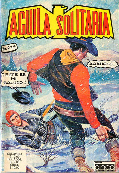 Cover for Aguila Solitaria (Editora Cinco, 1976 ? series) #214