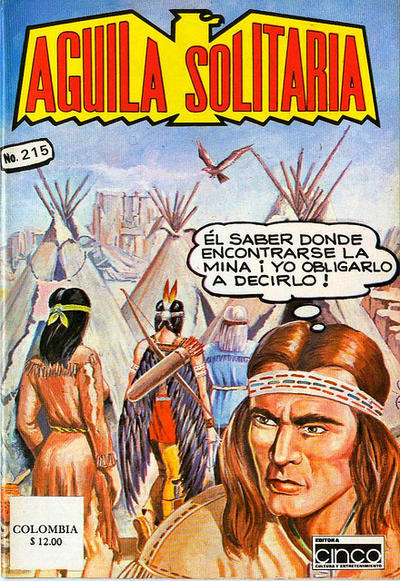 Cover for Aguila Solitaria (Editora Cinco, 1976 ? series) #215