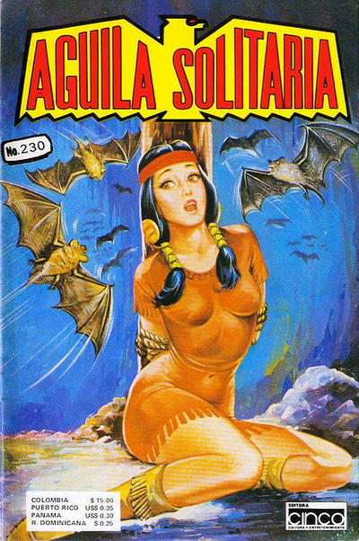 Cover for Aguila Solitaria (Editora Cinco, 1976 ? series) #230