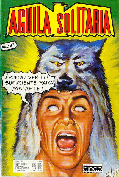 Cover for Aguila Solitaria (Editora Cinco, 1976 ? series) #231