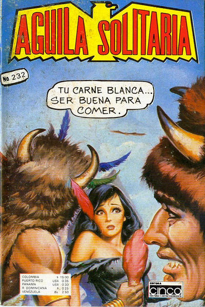 Cover for Aguila Solitaria (Editora Cinco, 1976 ? series) #232