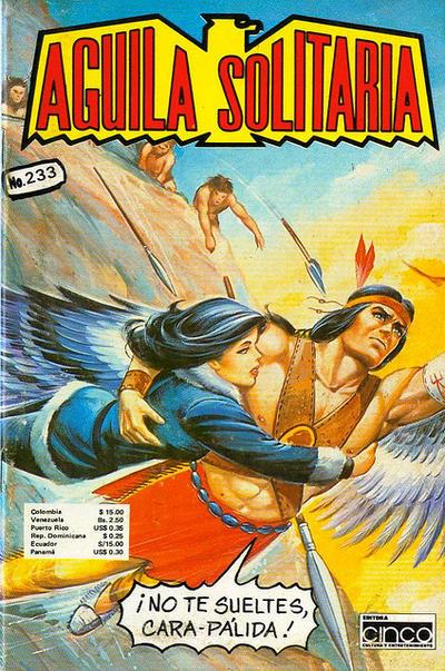 Cover for Aguila Solitaria (Editora Cinco, 1976 ? series) #233