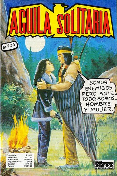 Cover for Aguila Solitaria (Editora Cinco, 1976 ? series) #234