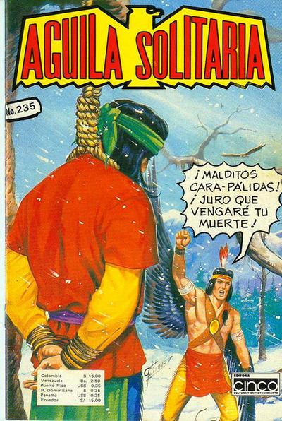 Cover for Aguila Solitaria (Editora Cinco, 1976 ? series) #235