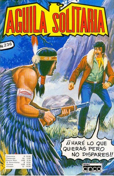 Cover for Aguila Solitaria (Editora Cinco, 1976 ? series) #236