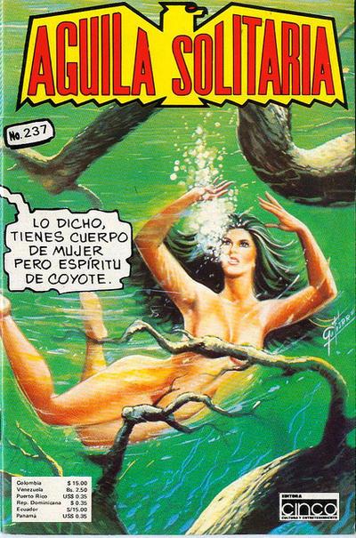 Cover for Aguila Solitaria (Editora Cinco, 1976 ? series) #237