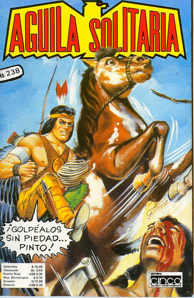 Cover for Aguila Solitaria (Editora Cinco, 1976 ? series) #238