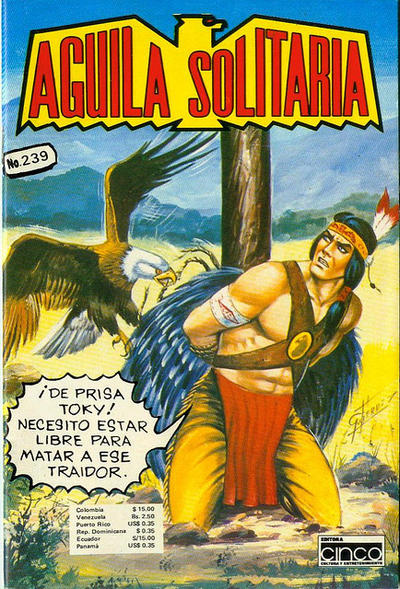 Cover for Aguila Solitaria (Editora Cinco, 1976 ? series) #239