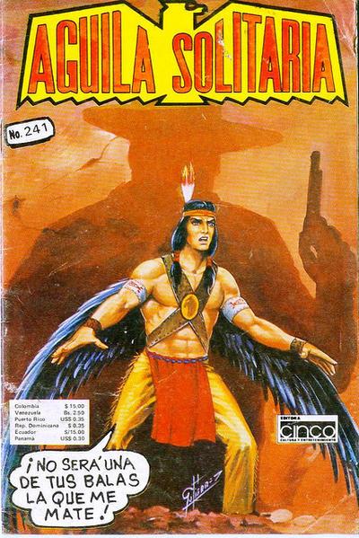 Cover for Aguila Solitaria (Editora Cinco, 1976 ? series) #241