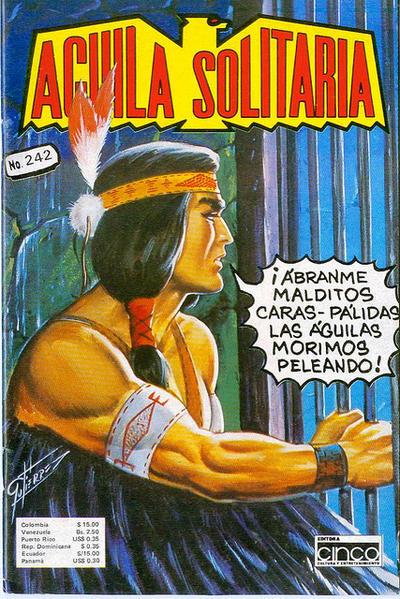Cover for Aguila Solitaria (Editora Cinco, 1976 ? series) #242