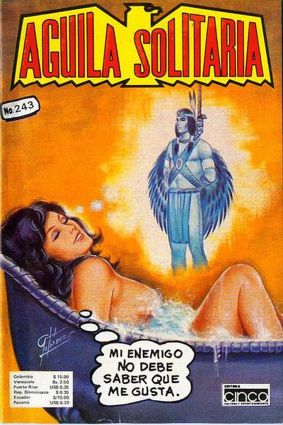 Cover for Aguila Solitaria (Editora Cinco, 1976 ? series) #243