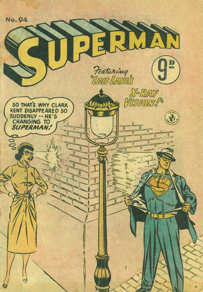 Cover for Superman (K. G. Murray, 1947 series) #94