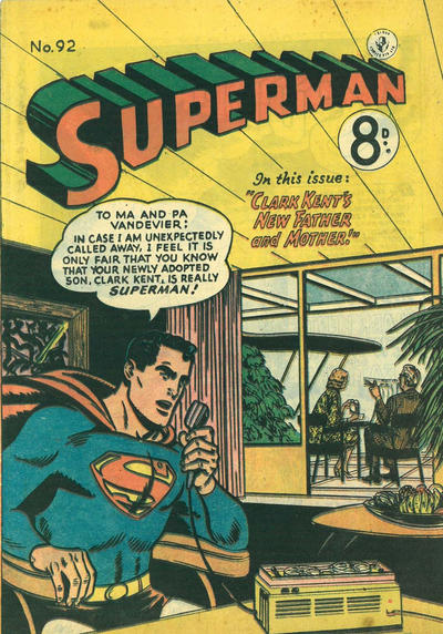 Cover for Superman (K. G. Murray, 1947 series) #92