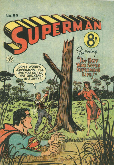 Cover for Superman (K. G. Murray, 1947 series) #89