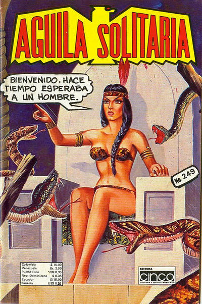 Cover for Aguila Solitaria (Editora Cinco, 1976 ? series) #249