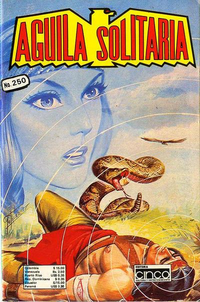 Cover for Aguila Solitaria (Editora Cinco, 1976 ? series) #250