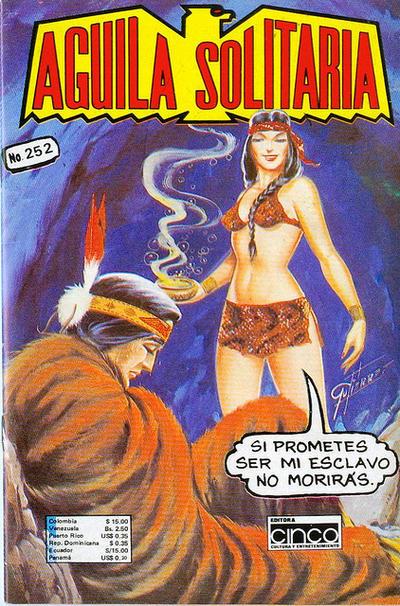 Cover for Aguila Solitaria (Editora Cinco, 1976 ? series) #252