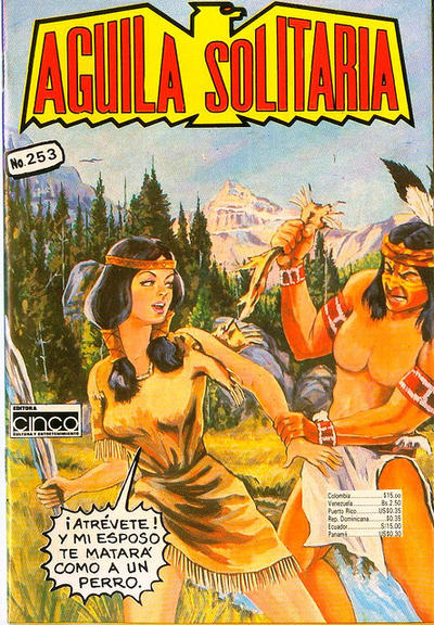 Cover for Aguila Solitaria (Editora Cinco, 1976 ? series) #253