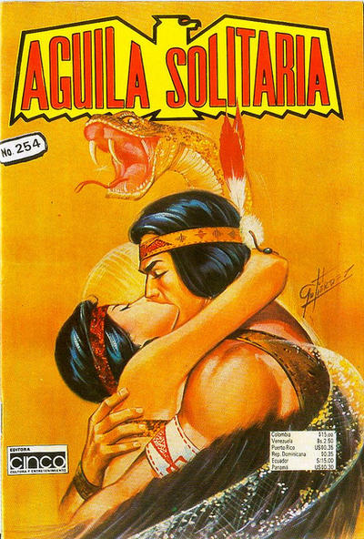 Cover for Aguila Solitaria (Editora Cinco, 1976 ? series) #254
