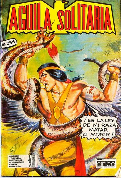 Cover for Aguila Solitaria (Editora Cinco, 1976 ? series) #256