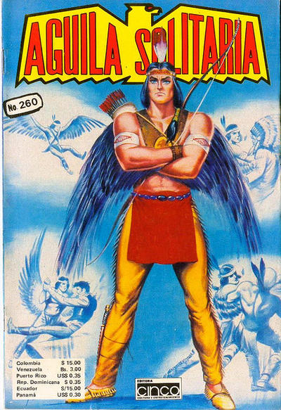 Cover for Aguila Solitaria (Editora Cinco, 1976 ? series) #260