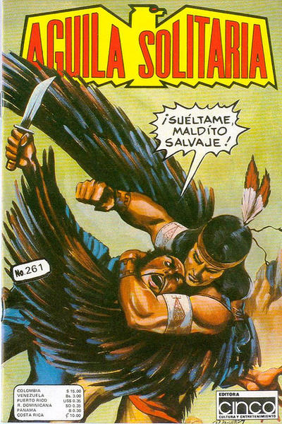 Cover for Aguila Solitaria (Editora Cinco, 1976 ? series) #261