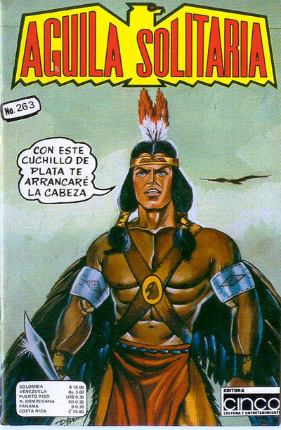 Cover for Aguila Solitaria (Editora Cinco, 1976 ? series) #263