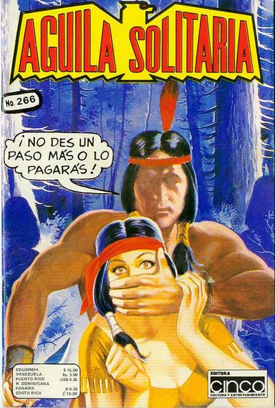 Cover for Aguila Solitaria (Editora Cinco, 1976 ? series) #266