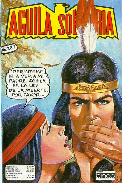 Cover for Aguila Solitaria (Editora Cinco, 1976 ? series) #267