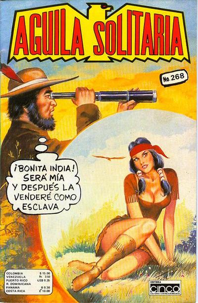Cover for Aguila Solitaria (Editora Cinco, 1976 ? series) #268