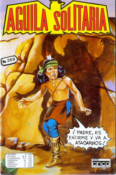 Cover for Aguila Solitaria (Editora Cinco, 1976 ? series) #269