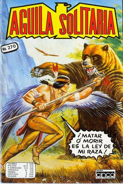 Cover for Aguila Solitaria (Editora Cinco, 1976 ? series) #270