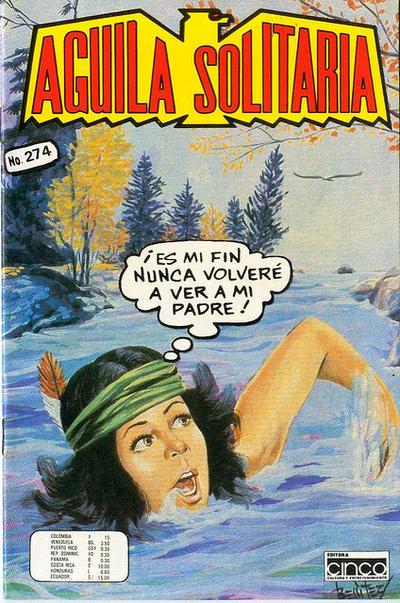 Cover for Aguila Solitaria (Editora Cinco, 1976 ? series) #274