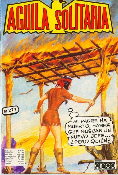 Cover for Aguila Solitaria (Editora Cinco, 1976 ? series) #277