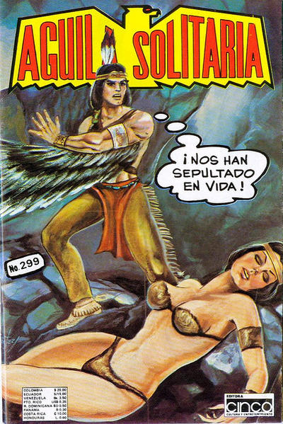 Cover for Aguila Solitaria (Editora Cinco, 1976 ? series) #299
