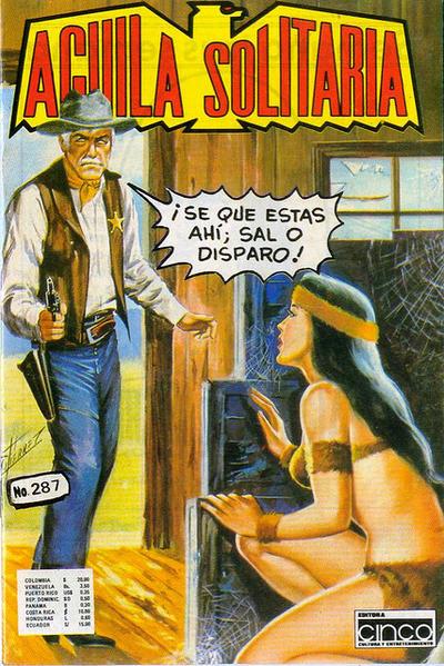 Cover for Aguila Solitaria (Editora Cinco, 1976 ? series) #287