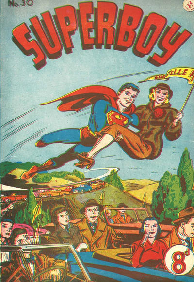 Cover for Superboy (K. G. Murray, 1949 series) #30