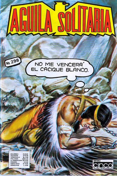 Cover for Aguila Solitaria (Editora Cinco, 1976 ? series) #298